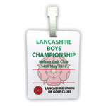 6217 Lancashire Bag Tag (Printed One Side)