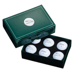 8231 Titleist 6 Ball Dome Box CBP6 (x)