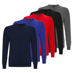 CGGF40B1 Callaway Merino High V-Neck Sweater