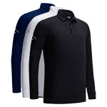 CGKF60H1 Callaway Long Sleeve Polo Shirt