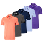 CGKS7016 Callaway Denim Jacquard Polo Shirt
