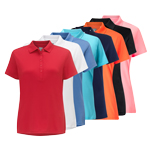CGKS70K2 Callaway Women Classic Chev Solid Polo