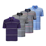 CGKS8084 Callaway 3 Colour Stripe Polo